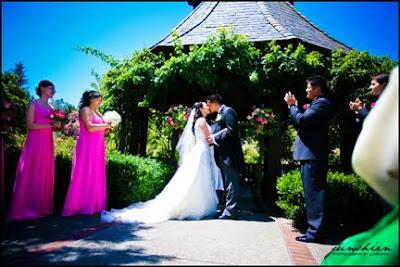 strawberry farm wedding