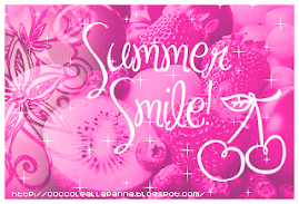 Second Award from Armanda Italy~Summer Smile Award~Thanks!