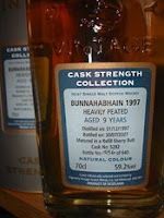 signatory bunnahabhain 1997 heavily peated cask strength