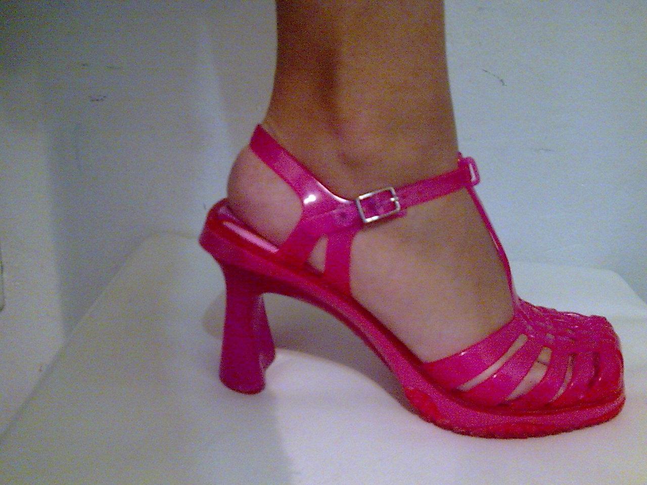 Sandália Melissa Vixen - 36 rosa - VENDIDA
