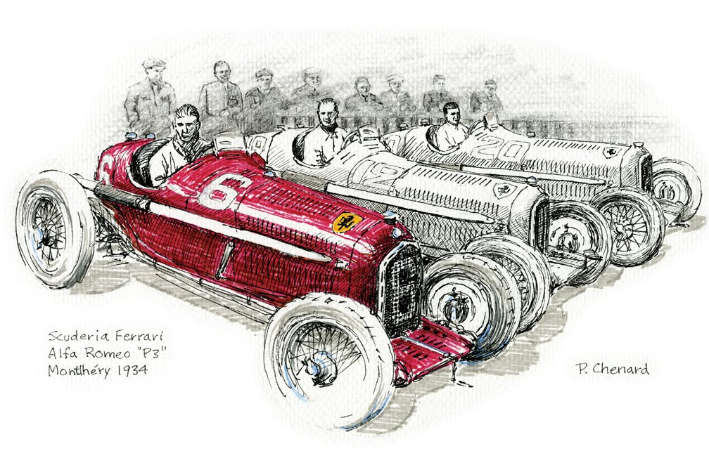 Automobiliart.com: Alfa Romeo & the 1934 Grand Prix Season