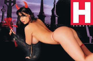 Sabrina Ravelli Revista Hombre Octubre 2010.