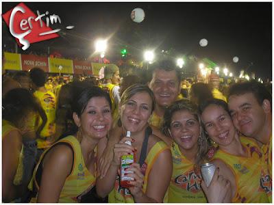 Canagoiânia 2007 - Foliões de Edéia