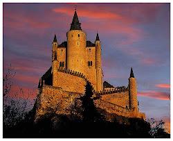 Windom Castle at sunset