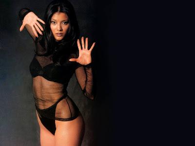 Kelly Hu Bikini Pictures
