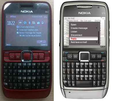 Nokia E 63 Review