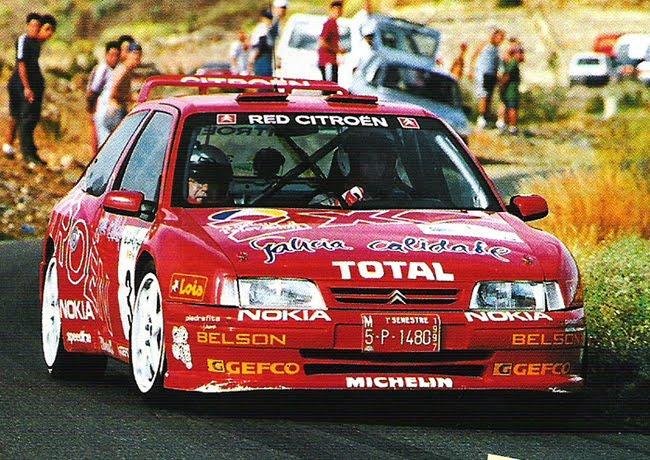Znalezione obrazy dla zapytania Citroen ZX Kit Car Rally