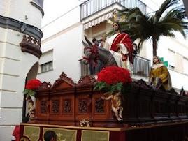Paso de la Ntro. Padre Jesús en su Entrada Triunfal en Jerusalén por calle Serafín Romeu Portas