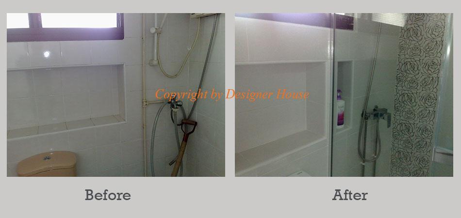 Toilet renovation work designer house pte ltd