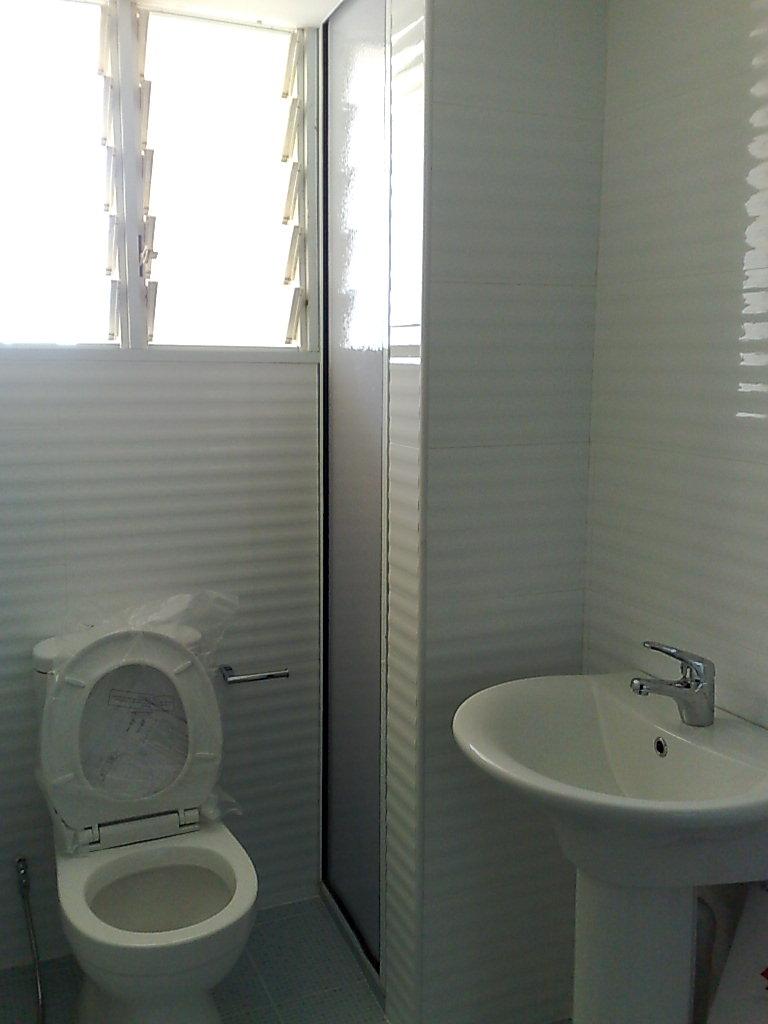 Kitchen toilet renovation so simple for Washroom renovation