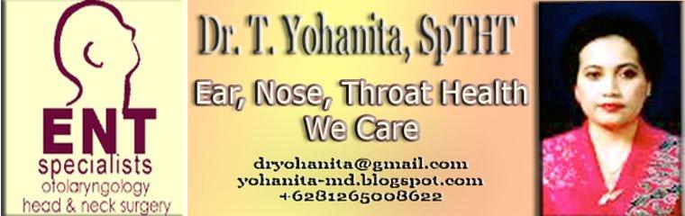 Dr.T.Yohanita, Sp.THT