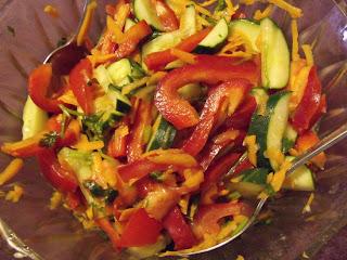 Овощной салат без калорий