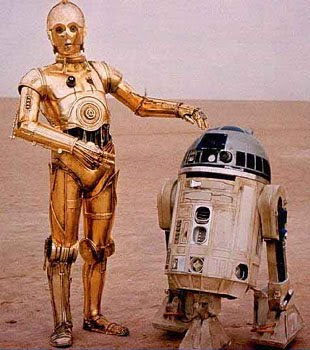 R2d2 And C3po 6 Degrees of Pope John...