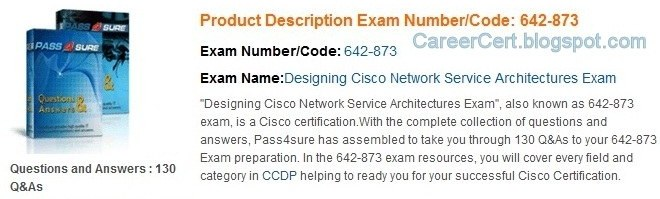 Cisco CCDP ARCH 300-320 study guide - blog.certtree.com
