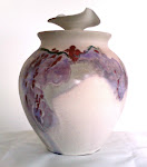 Hand Thrown Pottery Lidded Jar