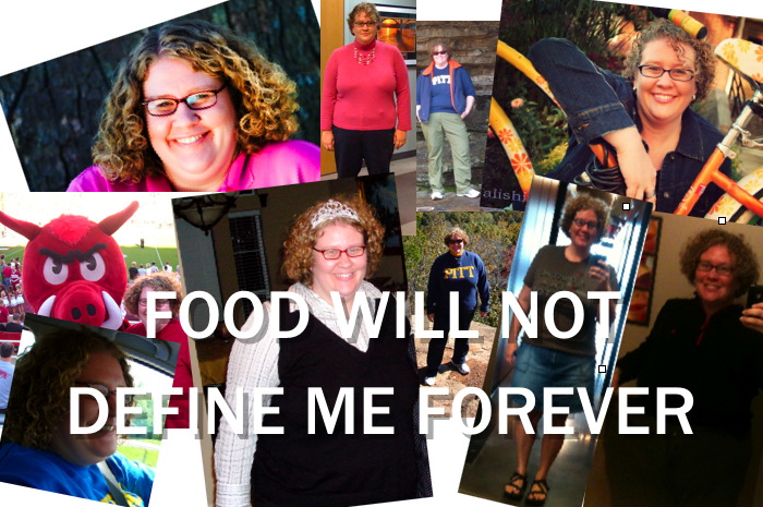 Food will not define me forever