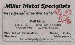 Miller Metal Specialists