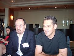 Avec Robert Vallerand, président sortant de l'IPPA
