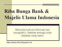 riba, bunga bank, bank syariah, bank muamalat, bank mandiri, MUI, halal, share