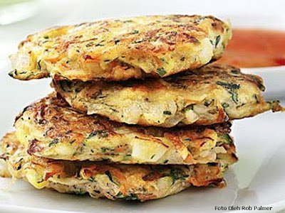 resep sayuran goreng - Vegetable Fritters recipe