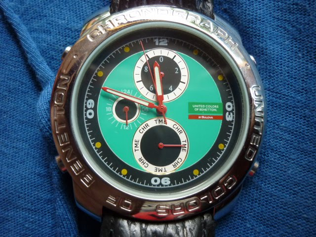 Koleksi qistina vintage watches united colors of benetton by bulova nos sold for Benetton watches