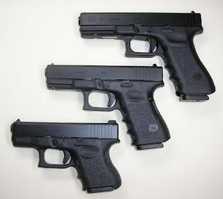 Pistola Glock Archivo
