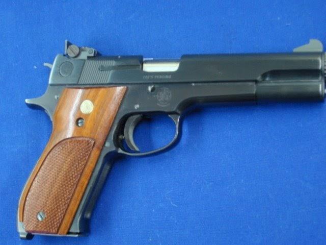 Armas de fuego pistola smith wesson master 52 m for Pistola para lacar muebles precio