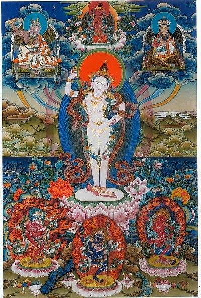 Miroir du dharma enseignement sur la pratique du tsok des for Miroir du dharma