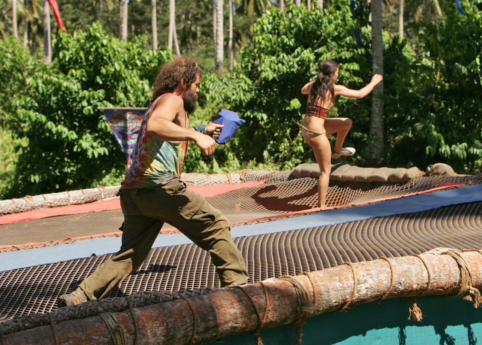 Survivor heros villains nude sexy clip