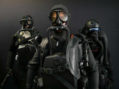 21 Toys Navy Seal Night Ops-Plongée Gilet /& Gear 1//6 Scale