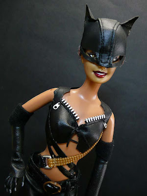 halle berry catwoman hot. Barbie as Catwoman