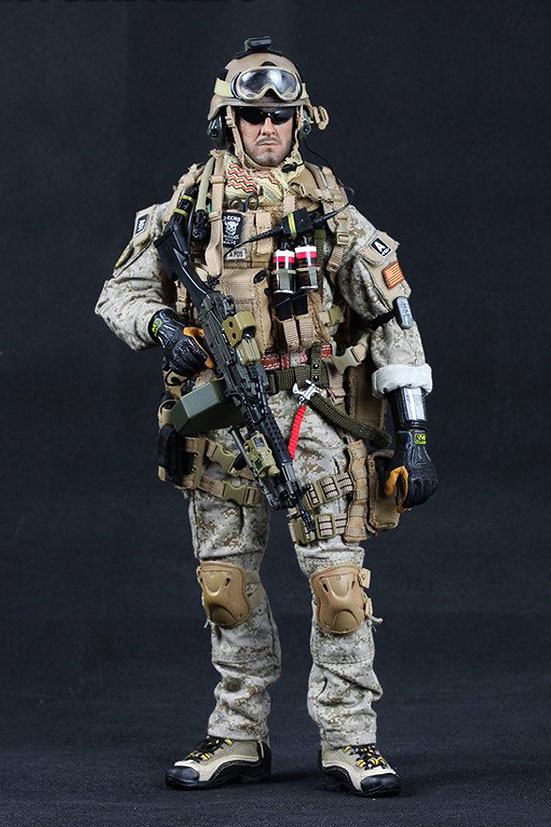Crazy Dummy US Navy SEAL Team 3 MK46 MOD1 Gunner PreviewNavy Seal Team 3