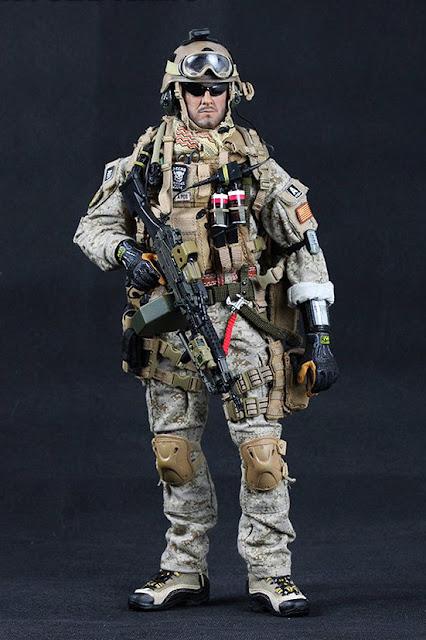 Toyhaven crazy dummy us navy seal team 3 mk46 mod1 gunner preview