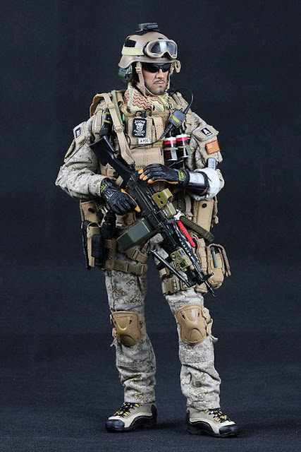 Toyhaven Crazy Dummy Us Navy Seal Team 3 Mk46 Mod1 Gunner
