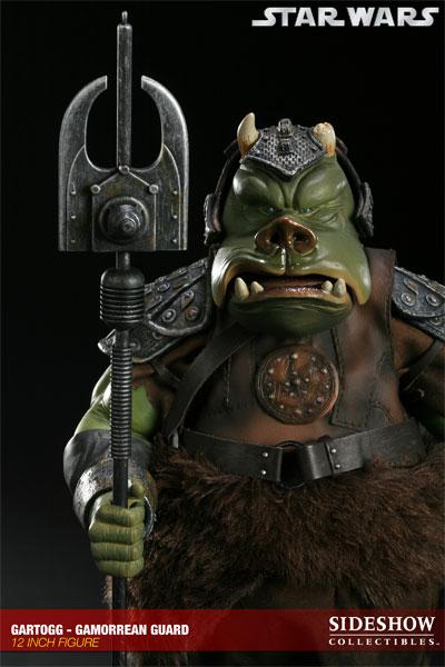 Toyhaven sideshow collectibles gartogg gamorrean guard preview - Star wars gamorrean guard ...