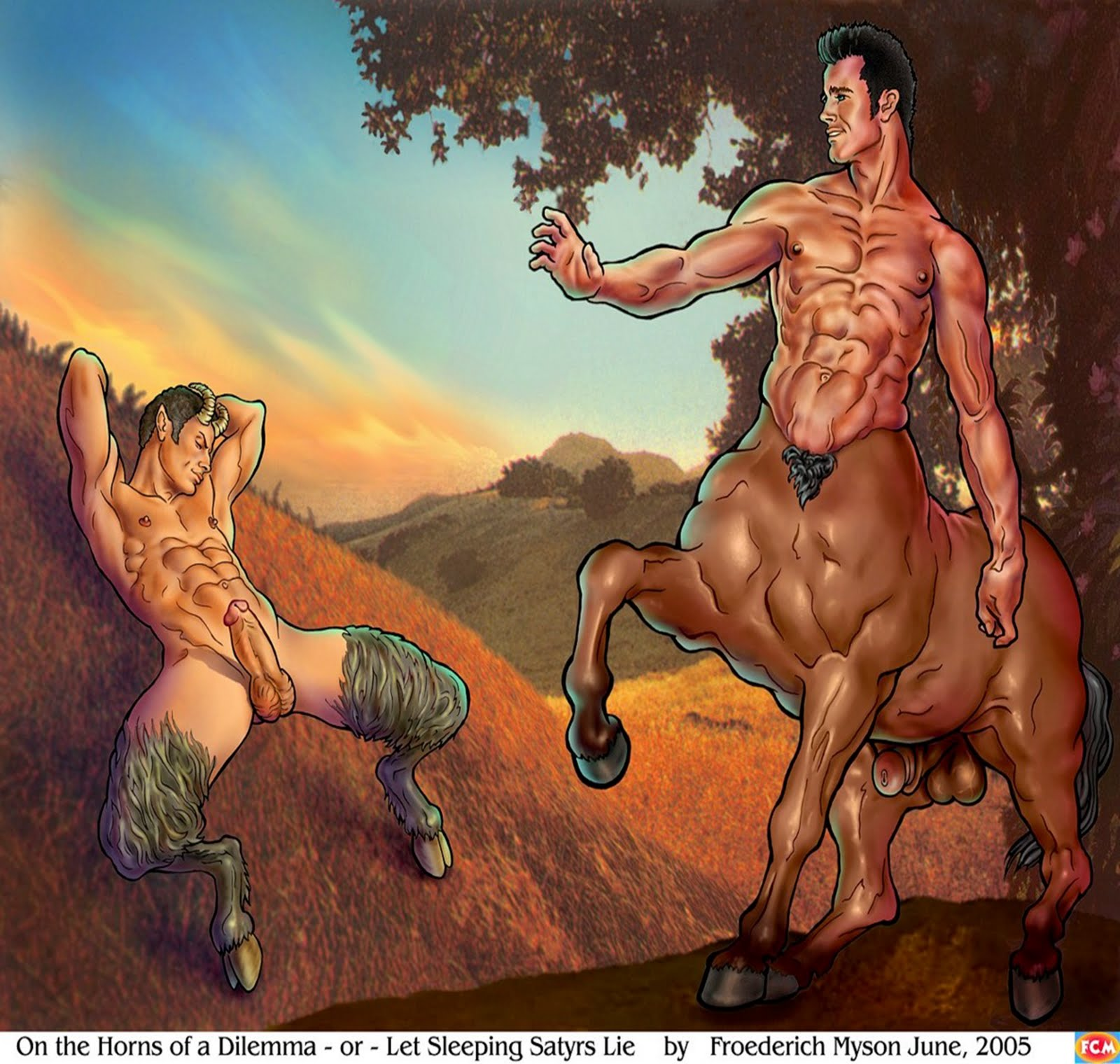 from Alec satyr and centaur gay