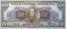 Billete de 100 Bs