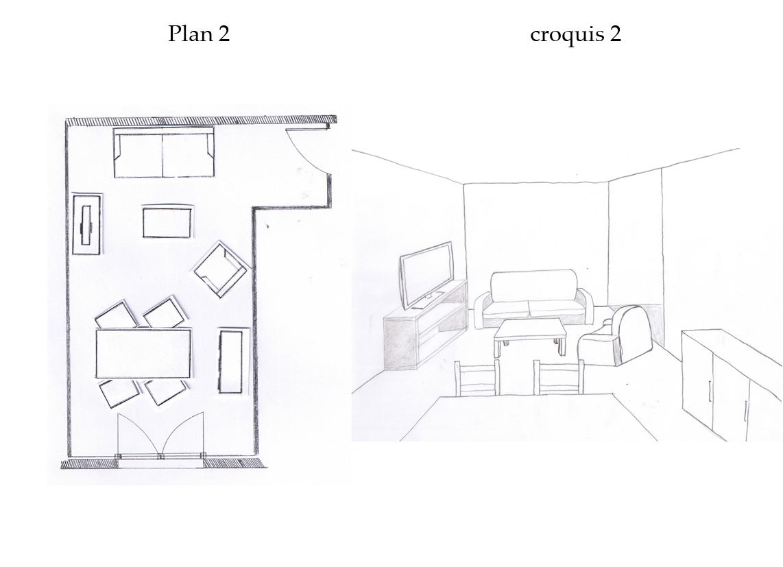 Plan amenagement salon perfect amenager salon cuisine m for Plan amenagement salon salle a manger