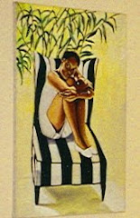 Girl in a Chair  Oil on Canvas