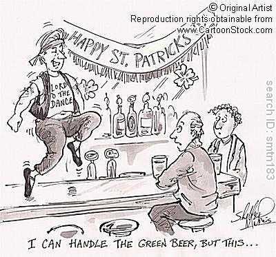 St. Patrick's Day Cartoons
