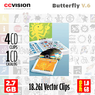 Creative Collection - Butterfly volume 6 (4 cds)