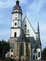 Iglesia de Sto. Tomás en Leipzig