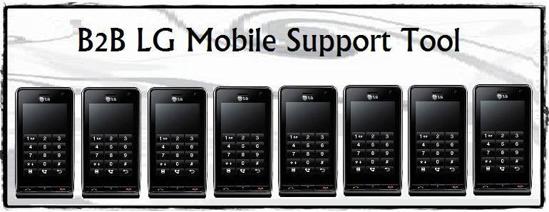 B2B LG Mobile Support tool