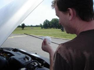 varilla aceite motor