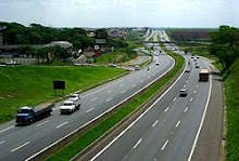 Rodovia privatizada em São Paulo