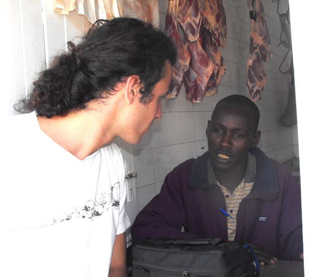 6 Octobre - Une boucherie d'Arusha