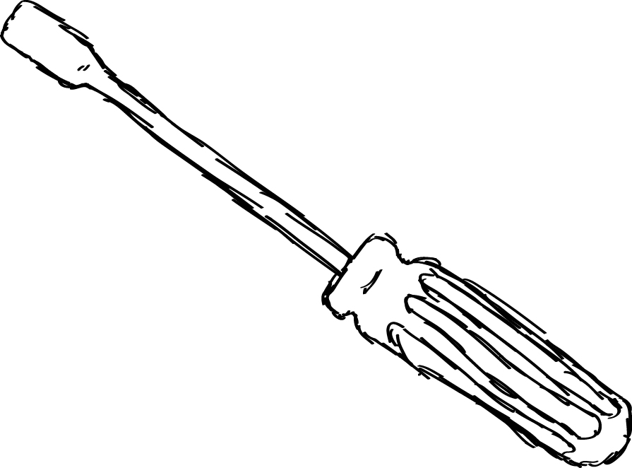 Flat Head Screwdriver Clipart | www.imgkid.com - The Image ...