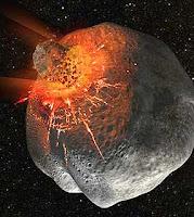 dilúvio - Meteoritos do dilúvio?  Meteor