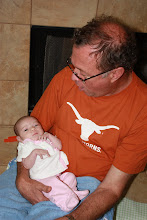 Peepaw holding me for the first time