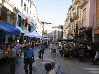 Feria de la Candelera en Barbastro (Somontano, Huesca, Aragón, España)